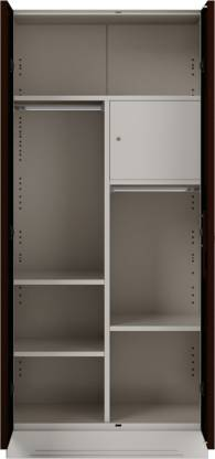 Godrej Interio Slimline 2-Door Almirah with Locker (Russet)
