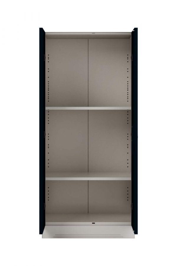 Godrej Interio Slimline 2 Door Steel Almirah with 2 Shelves and Mirror (Pacific Blue)