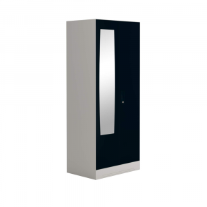 Godrej Interio Slimline 2 Door Steel Almirah with 2 Shelves and Mirror (Pacific Blue)