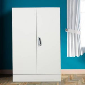 Godrej Interio Slimline Minor 2 S Metal Almirah (Finish Color - Royal Ivory)