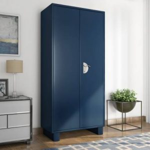 Godrej Interio Storwel M2 Metal Almirah (Finish Color - Blue)