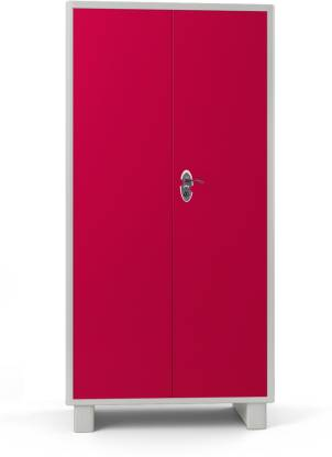 Godrej Interio Wardrobe-H Metal Almirah (Finish Color - Deep Pink)