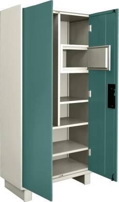 Godrej Interio Wardrobe-H Metal Almirah (Finish Color - Spring Blue)