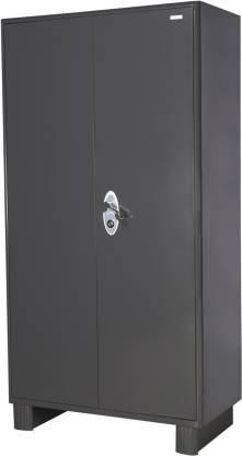 Godrej Interio Wardrobe H1 Metal Almirah (Finish Color - Graphite Grey)