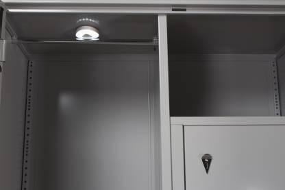 Godrej Interio Wardrobe H1 Metal Almirah (Finish Color - Prince Grey)