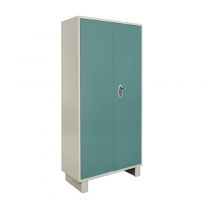 Godrej Interio Wardrobe-H1 Metal Almirah (Finish Color - Spring blue)