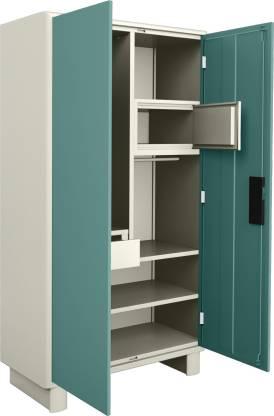 Godrej Interio Wardrobe-H1 Metal Almirah (Finish Color - Spring blue)