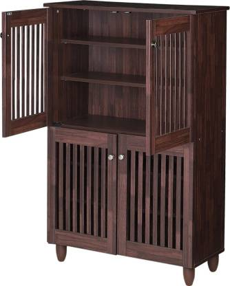 Jubba Engineered Wood Shoe Rack (6 Shelves)