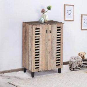 Niger Engineered Wood Shoe Rack (4 Shelves)