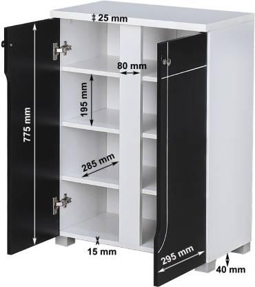 Tano Engineered Wood Shoe Rack (4 Shelves)