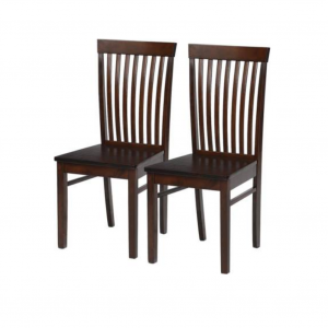 Adel Solid Wood Wenge Dining Chair (Set of 2)