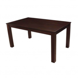 Arthur Solid Wood 6 Seater Wenge Dining Table (Table Only)