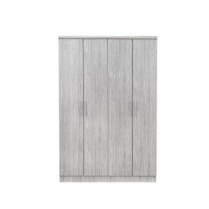 Bosna Engineered Wood 4 Door Wardrobe