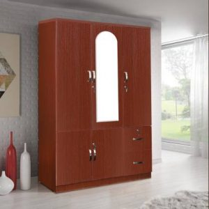 Boyne Engineered Wood 3 Door Wardrobe