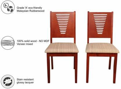 Burnett Solid Wood Dining Chair (Set of 2)