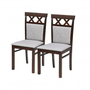 Daly Solid Wood Wenge Dining Chair (Set of 2)