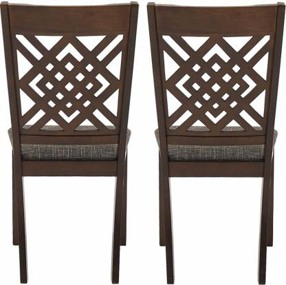 Dawson Solid Wood Wenge Dining Chair (Set of 2)