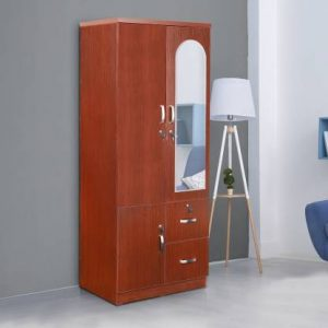 Elbe Engineered Wood 2 Door Wardrobe