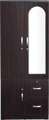 Havel Engineered Wood 2 Door Wardrobe