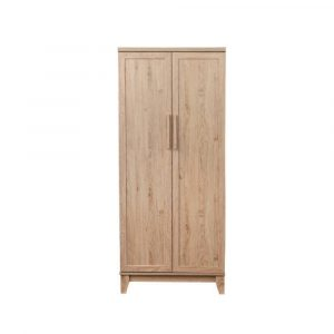 Liffey Engineered Wood 2 Door Wardrobe