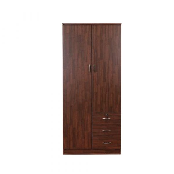 Shannon Engineered Wood 2 Door Wardrobe