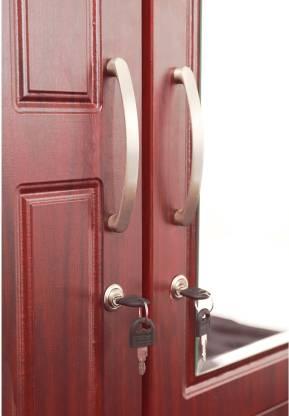 Tana Engineered Wood 2 Door Wardrobe