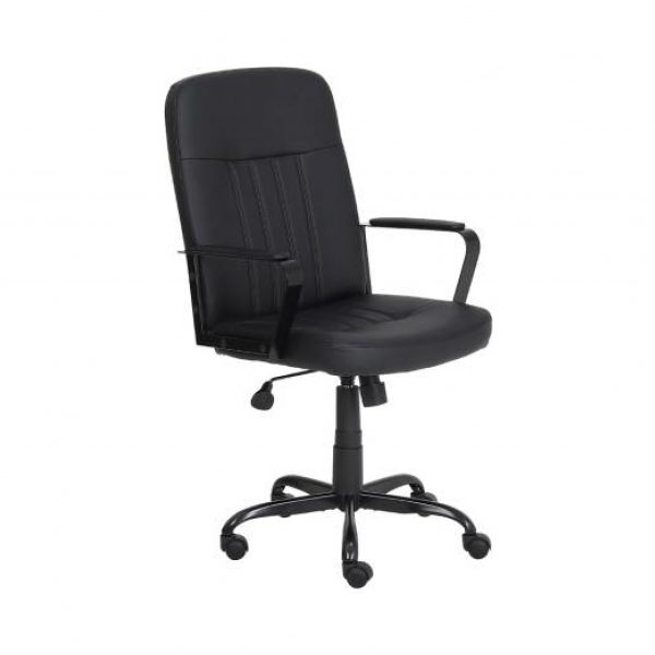 Cania Leatherette Office Arm Chair