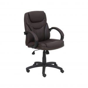 Detroit Leatherette Office Arm Chair