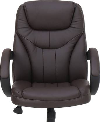 Detroit Leatherette Office Arm Chair