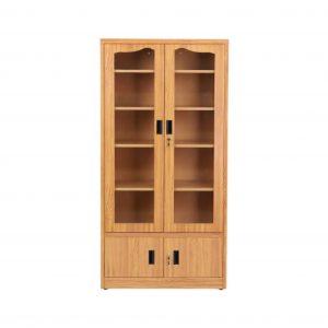 Nelson Metal Close Book Shelf (Finish Color - Oak)