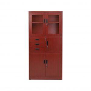 Niagara Metal Close Book Shelf (Finish Color - Brown)