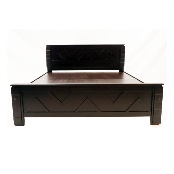 Catal Solid Wood Queen Size Bed
