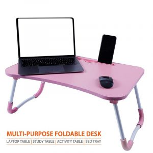 Cloud Pink Foldable Multi-Purpose Laptop Table