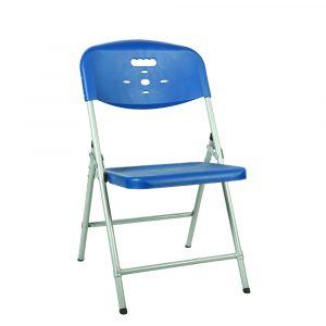 Luxor Blue Portable Folding Chair