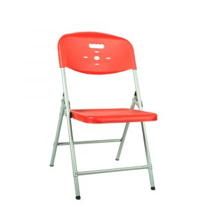 Luxor Orange Portable Folding Chair