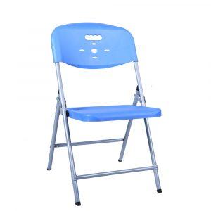 Luxor Sky Blue Portable Folding Chair