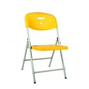 Luxor Yellow Portable Folding Chair