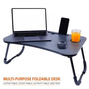 Cloud+ Black Foldable Multi-Purpose Laptop Table