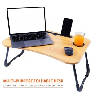Cloud+ Maple Wood Foldable Multi-Purpose Laptop Table