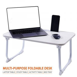 Cloud Quad Ivory Foldable Multi-Purpose Laptop Table