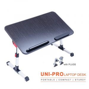 Amaze Black Foldable Multi-Purpose Laptop Table