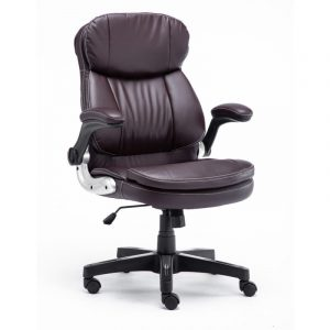 Miami Brown Leatherette Chair