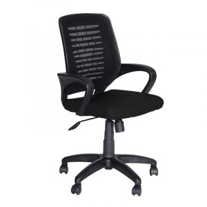 Oslo Ergonomic Chair in Black Colour