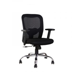 Tycoon Medium Back Black Executive Chair