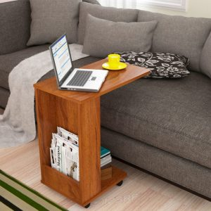 WFH08 Movable Engineered Wood Office Table
