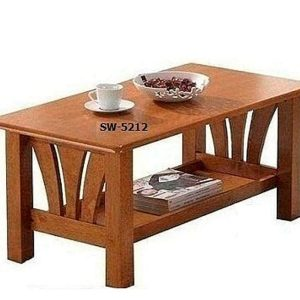 Finn Brown Wood Finished Coffee Table